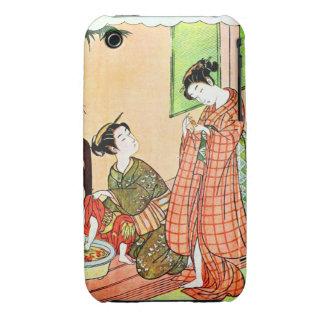Vintage Japanese Asian Art Women Case