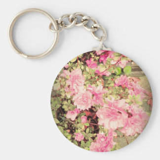 Vintage Japanese Azaleas Keychain