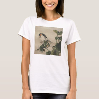Vintage Japanese Bird Painting T-Shirt