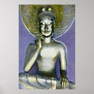 Vintage Japanese Buddha Bodhisattva Kannon Posters
