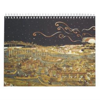 Vintage Japanese Calendar calendar