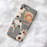Vintage Japanese Cat Art Barely There iPhone 6 Case
