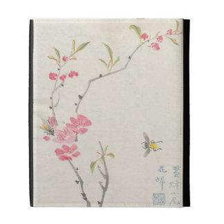 Vintage Japanese Cherry Blossoms iPad Folio Covers
