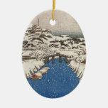 Vintage Japanese Crane Ornament