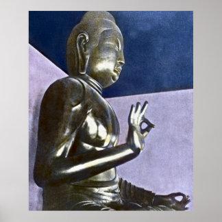 Vintage Japanese Daibutsu Buddha Posters