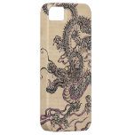 Vintage Japanese Dragon Fantasy Art iPhone Case iPhone 5 Case