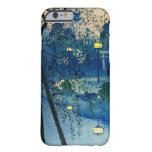 Vintage Japanese Evening in Blue Barely There iPhone 6 Case