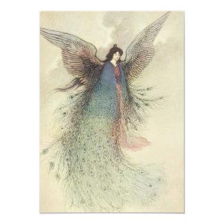 Vintage Japanese Fairy Tale, The Moon Maiden Card