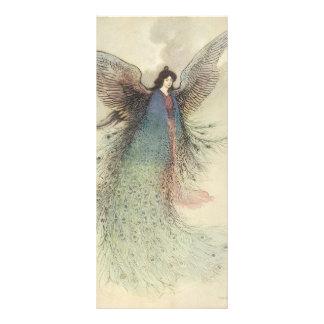 Vintage Japanese Fairy Tale, The Moon Maiden Rack Card