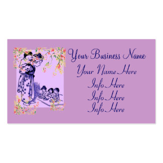 Vintage Japanese Fashions Business Card Template