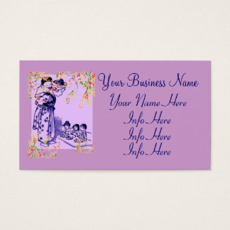 Vintage Japanese Fashions Business Card