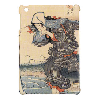 Vintage Japanese Geisha Girl Art Cover For The iPad Mini
