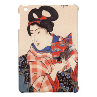 Vintage Japanese Geisha Girl Art iPad Mini Case