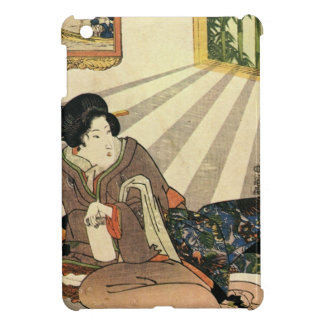 Vintage Japanese Geisha Girl Art iPad Mini Cover