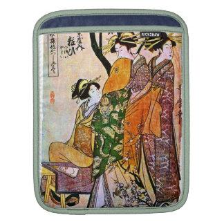 Vintage Japanese Geisha iPad Sleeve
