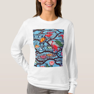 Vintage Japanese Kimono Textile (Bingata) T-Shirt