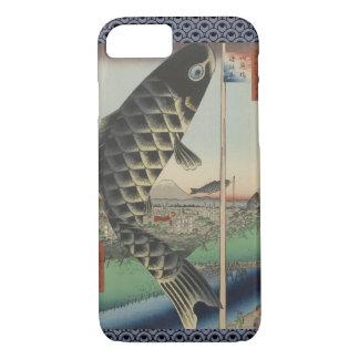 Vintage Japanese Koi Festival Flags iPhone 7 Case