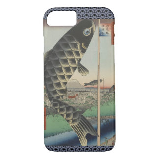 Vintage Japanese Koi Festival Flags iPhone 8/7 Case
