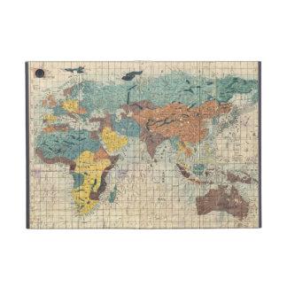 Vintage Japanese Map of the World 1 Case For iPad Mini