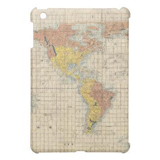 Vintage Japanese Map of the World 2 iPad Mini Cases