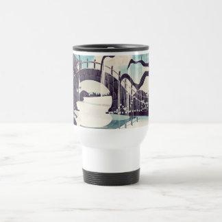 Vintage Japanese Meditation Garden Travel Mug