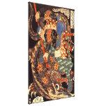 Vintage Japanese Miyamoto Musashi 宮本武蔵 Canvas Print