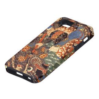 Vintage Japanese Miyamoto Musashi 宮本武蔵 iPhone 5 Cases