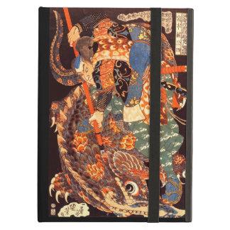 Vintage Japanese Miyamoto Musashi 宮本武蔵 iPad Folio Case