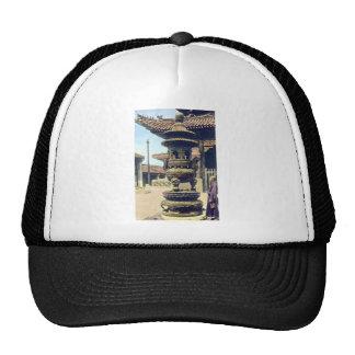 Vintage Japanese Monastery Trucker Hat