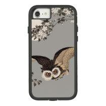 Vintage Japanese Owl Wood Print Artwork Case-Mate Tough Extreme iPhone 7 Case
