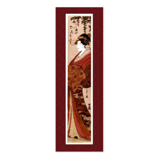 Vintage Japanese Painting Business Card