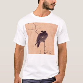 Vintage Japanese Painting of A Bird T-Shirt