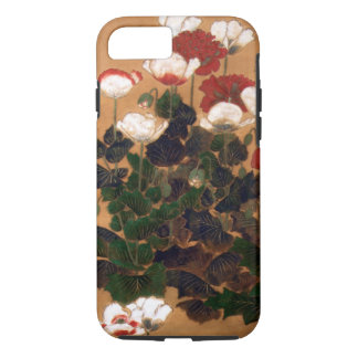 Vintage Japanese Poppies iPhone 7 Case