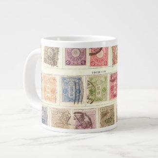 Vintage Japanese Postage Jumbo Mugs