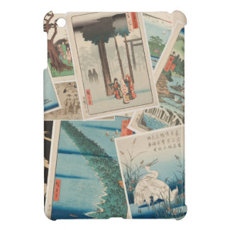 Vintage Japanese Print Collage iPad Case Cover