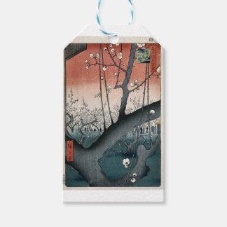 Vintage Japanese Print Gift Tags