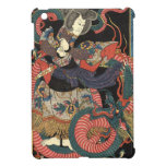 Vintage Japanese Red Dragon Case For The iPad Mini