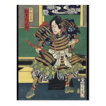 Vintage Japanese samurai Warrior Postcards