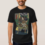 Vintage Japanese samurai Warrior T-shirts