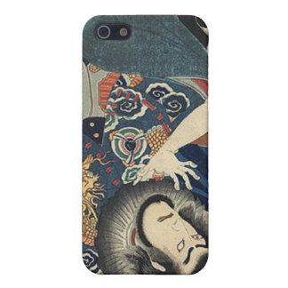 Vintage Japanese samurai Warriors iPhone 5 Case