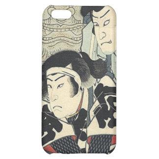 Vintage Japanese samurai warriors iPhone 5C Cover