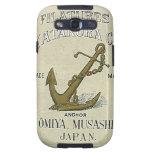 Vintage Japanese Silk Trade Card Galaxy SIII Case