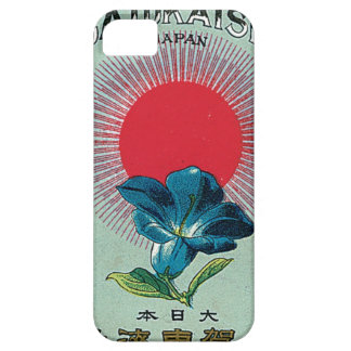 Vintage Japanese Silk Trade Card - iPhone Case