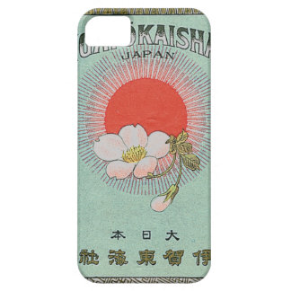 Vintage Japanese Silk Trade Card iPhone SE/5/5s Case