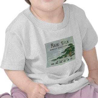Vintage Japanese Silk Trade Card Tshirt