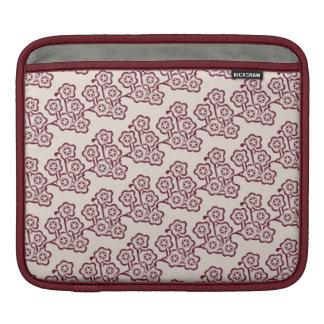 vintage japanese spring cherry blossom pattern iPad sleeve