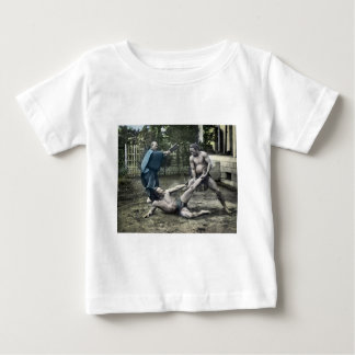 Vintage Japanese Sumo Traditional 相撲 Baby T-Shirt