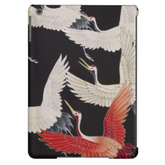 Vintage Japanese Textile Cranes iPad Case