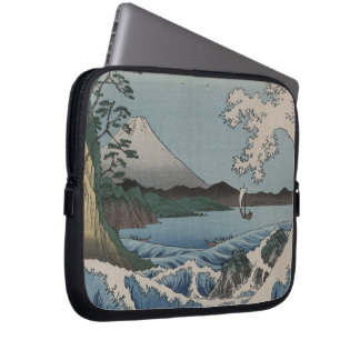 Vintage Japanese The Sea of Satta Computer Sleeve