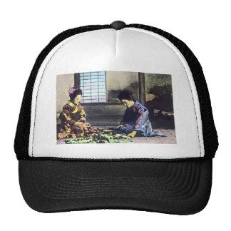 Vintage Japanese The Seamstress Magic Lantern Trucker Hat